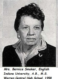 BerniceatWarrenHighSchool1958
