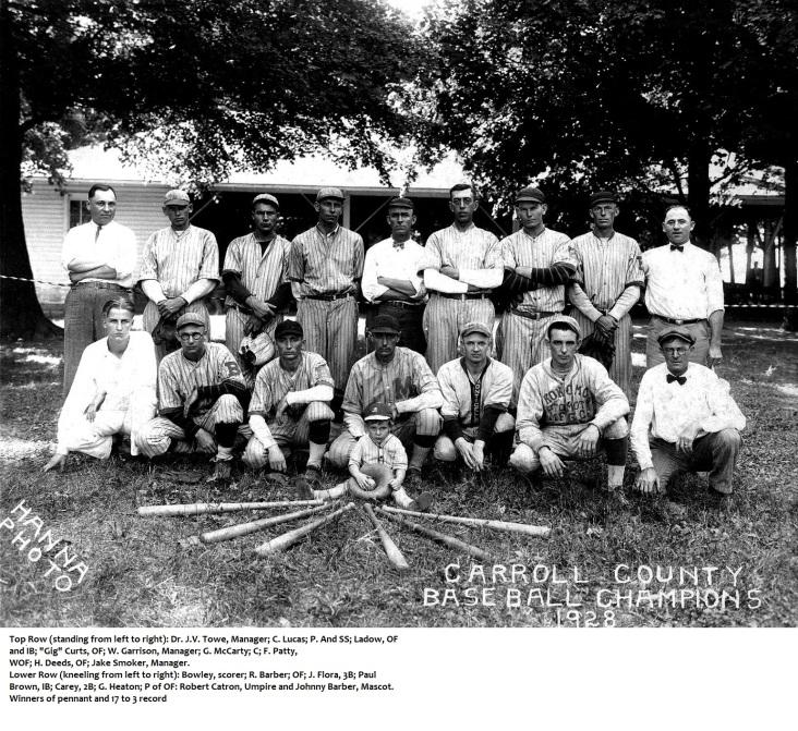 HUSBANDCarroll County1928 Champions